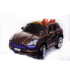 Электромобиль Toyland Porsche Macan QLS 8588, цвет: коричневый