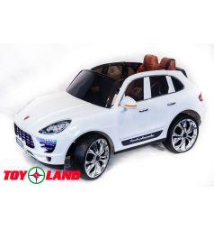 Электромобиль Toyland Porsche Macan QLS 8588, цвет: белый