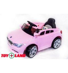 Электромобиль Toyland BMW XMX 826, цвет: розовый