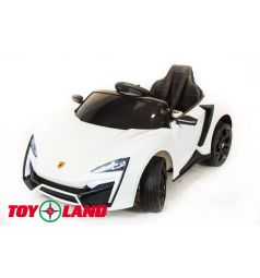 Электромобиль Toyland Lykan QLS 5188 4Х4, цвет: белый