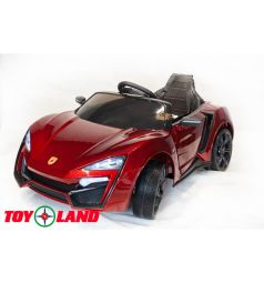 Электромобиль Toyland Lykan QLS 5188 4Х4, цвет: красный краска