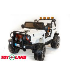 Электромобиль Toyland Moto Sport LQ168, цвет: белый