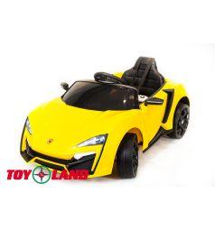 Электромобиль Toyland Lykan QLS 5188 4Х4, цвет: желтый