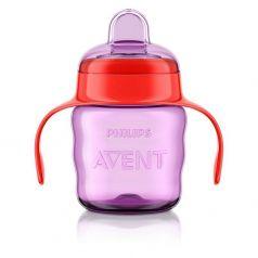 Чашка-поильник Philips Avent Comfort, с 6 месяцев, цвет: розовый