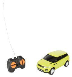 Машина на радиоуправлении S+S Toys цвет: салатовый 14 см 1 : 28