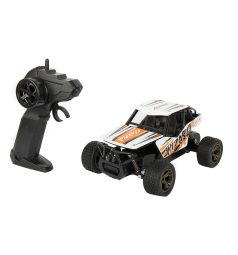 Машинка на радиоуправлении Игруша цвет: белый/оранжевый 21.5 см 1 : 18