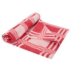 Моей крохе Одеяло 100 х 118 см, цвет: красный