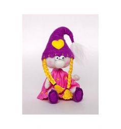 Набор для создания текстильной игрушки Перловка Гномики Гномочка