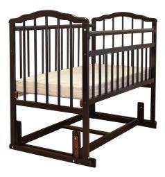 Кровать Malika Melisa-4, цвет: шоколад