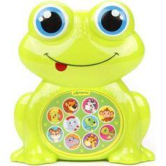 Музыкальная игрушка Азбукварик Зверята-малышата Лягушонок 14 см