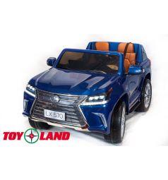 Электромобиль Toyland Lexus LX570, цвет: синий