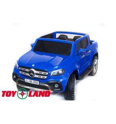 Электромобиль Toyland Mersedes-Benz X-Class, цвет: синий