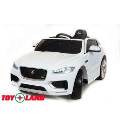 Электромобиль Toyland Jaguar F-PACE, цвет: белый