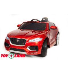 Электромобиль Toyland Jaguar F-PACE, цвет: красный