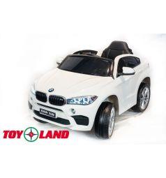 Электромобиль Toyland BMW X6 mini, цвет: белый