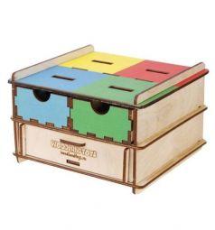 Развивающая игрушка Woodland Комодик-плоский Инструменты и посуда 14 х 14 х 9 см