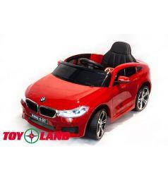 Электромобиль Toyland BMW 6 GT, цвет: красный