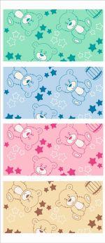 Funecotex Одеяло байковое Мишки 98 х 138 см, цвет: розовый