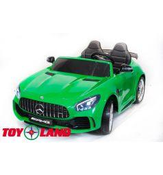 Электромобиль Toyland Mercedes-Benz GTR 4Х4, цвет: зеленый