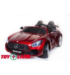 Электромобиль Toyland Mercedes-Benz GTR 4Х4, цвет: красный