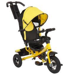 Трехколесный велосипед Capella Action trike (A), цвет: желтый/черный
