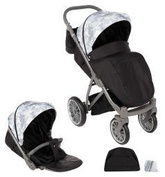 Прогулочная коляска Bexa Poland iX, цвет: камуфляж серый