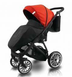 Прогулочная коляска Bexa Poland iX, цвет: красный