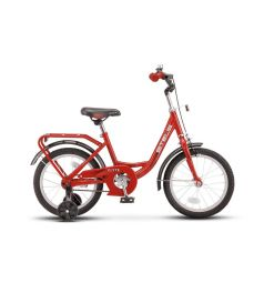 """Двухколечный велосипед Stels """"Flyte 16 Z011 (2018) 11"""""""""""", цвет: красный"""