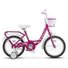 Двухколечный велосипед Stels Flyte Lady 16 Z011 (2018) 11, цвет: розовый