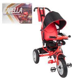 Трехколесный велосипед Capella S-511, цвет: красный