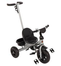 Трехколесный велосипед Leader Kids K204, цвет: серый/черный