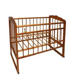 Кровать-качалка ИП Смирнов Женечка-3, цвет: орех
