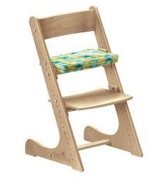 Подушка Конёк-Горбунёк на сиденье, цвет: арлекино/зима