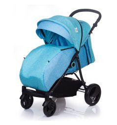Прогулочная коляска BabyHit Parkway, цвет: светло-голубой
