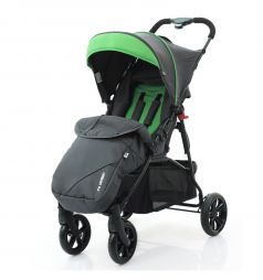 Прогулочная коляска FD-Design Treviso 4, цвет: anthracite/grass