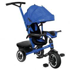 Трехколесный велосипед Moby Kids Rider 360° 10x8 AIR Car, цвет: синий