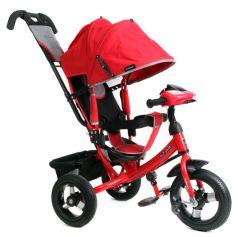 Трехколесный велосипед Moby Kids Comfort 12x10 AIR Car 1, цвет: красный