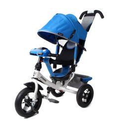Трехколесный велосипед Moby Kids Comfort 12x10 AIR Car 2, цвет: синий