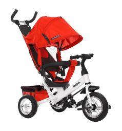 Трехколесный велосипед Moby Kids Comfort 10x8 EVA, цвет: красный