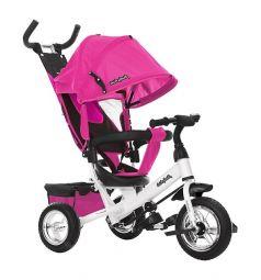 Трехколесный велосипед Moby Kids Comfort 10x8 EVA, цвет: розовый