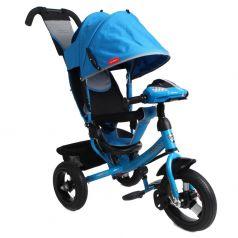 Трехколесный велосипед Moby Kids Comfort 12x10 AIR Car 1, цвет: синий