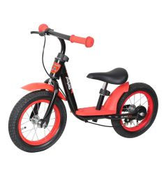Беговел Moby Kids KidFun 12, цвет: красный