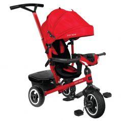 Трехколесный велосипед Moby Kids Rider 360° 10x8 AIR Car, цвет: красный