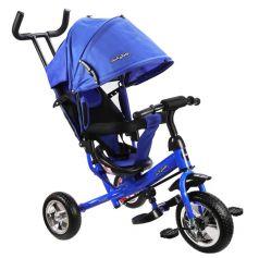 Трехколесный велосипед Moby Kids Start 10x8 EVA, цвет: синий