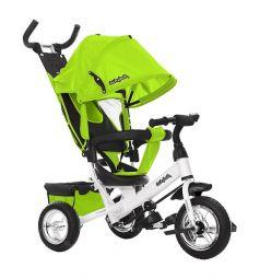 Трехколесный велосипед Moby Kids Comfort 10x8 EVA, цвет: зеленый