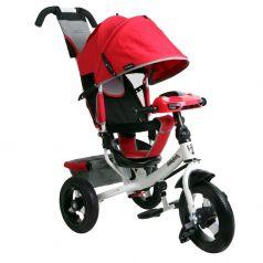 Трехколесный велосипед Moby Kids Comfort 12x10 AIR Car 2, цвет: красный