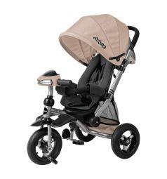 Велосипед-коляска Moby Kids Stroller trike 10x10 AIR Car, цвет: кофе