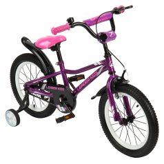 Двухколесный велосипед Leader Kids G16BD801, цвет: фиолетовый
