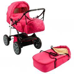 Коляска-трансформер Marimex Sport, цвет: розовый/принт