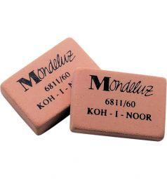 Ластик каучук Koh-I-Noor Mondeluz для чернографитных карандашей